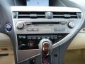 Parchment/Espresso Birds Eye Maple Controls Photo for 2013 Lexus RX #76993515