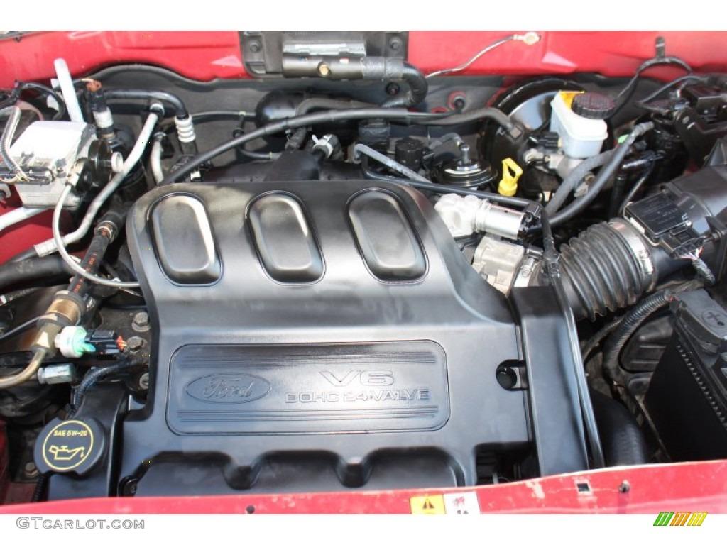 2004 Ford Escape XLT V6 3.0L DOHC 24 Valve V6 Engine Photo ...