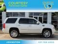 White Diamond Tricoat 2011 Cadillac Escalade Platinum