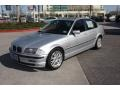 Titanium Silver Metallic - 3 Series 323i Sedan Photo No. 2