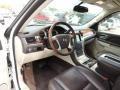2011 Cadillac Escalade Cocoa/Light Linen Tehama Leather Interior Prime Interior Photo