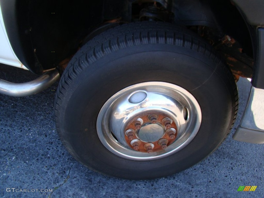 2002 Chevrolet Silverado 3500 LT Crew Cab 4x4 Chassis Wheel Photos