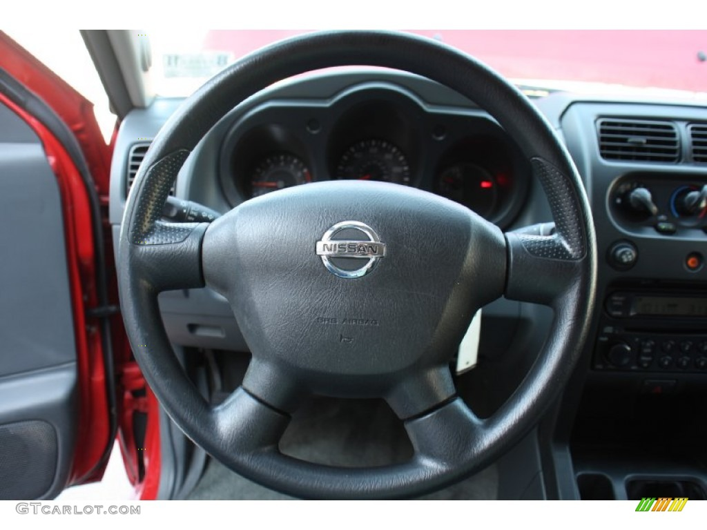 2002 Nissan Frontier XE King Cab Steering Wheel Photos ...