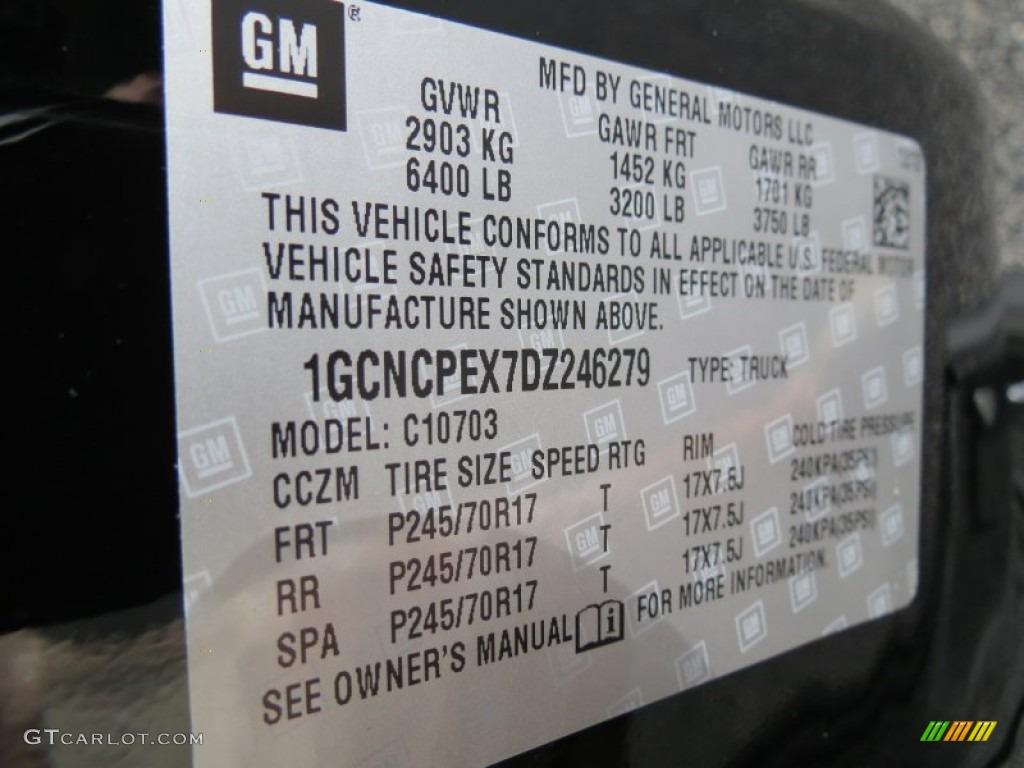 2013 Silverado 1500 LS Regular Cab - Black / Dark Titanium photo #15