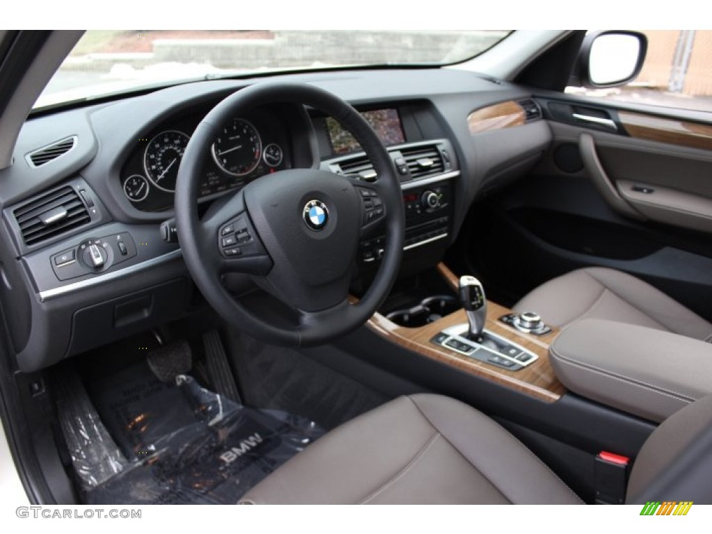 Mojave Interior 2013 Bmw X3 Xdrive 28i Photo 77018517