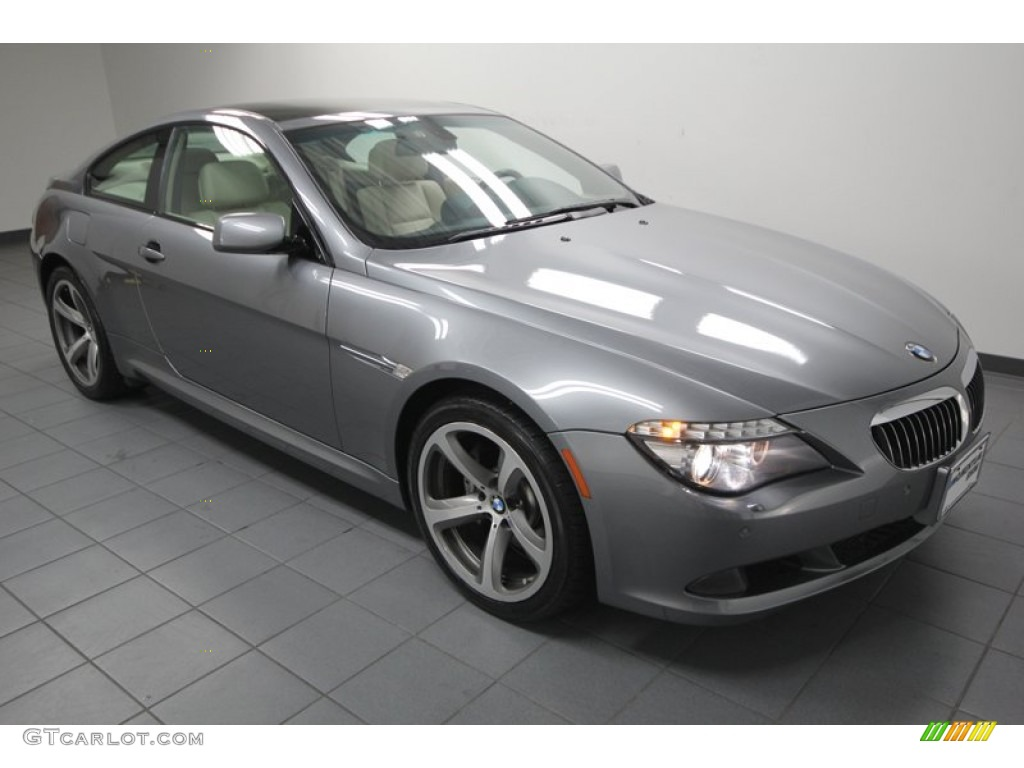 space grey metallic 2009 bmw 6 series 650i coupe exterior. Black Bedroom Furniture Sets. Home Design Ideas