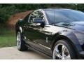 2007 Black Ford Mustang Shelby GT500 Coupe  photo #9