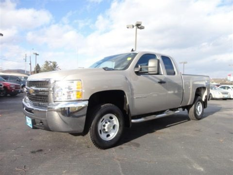 2009 chevrolet silverado 2500hd work truck extended cab 4x4 data info and specs. Black Bedroom Furniture Sets. Home Design Ideas