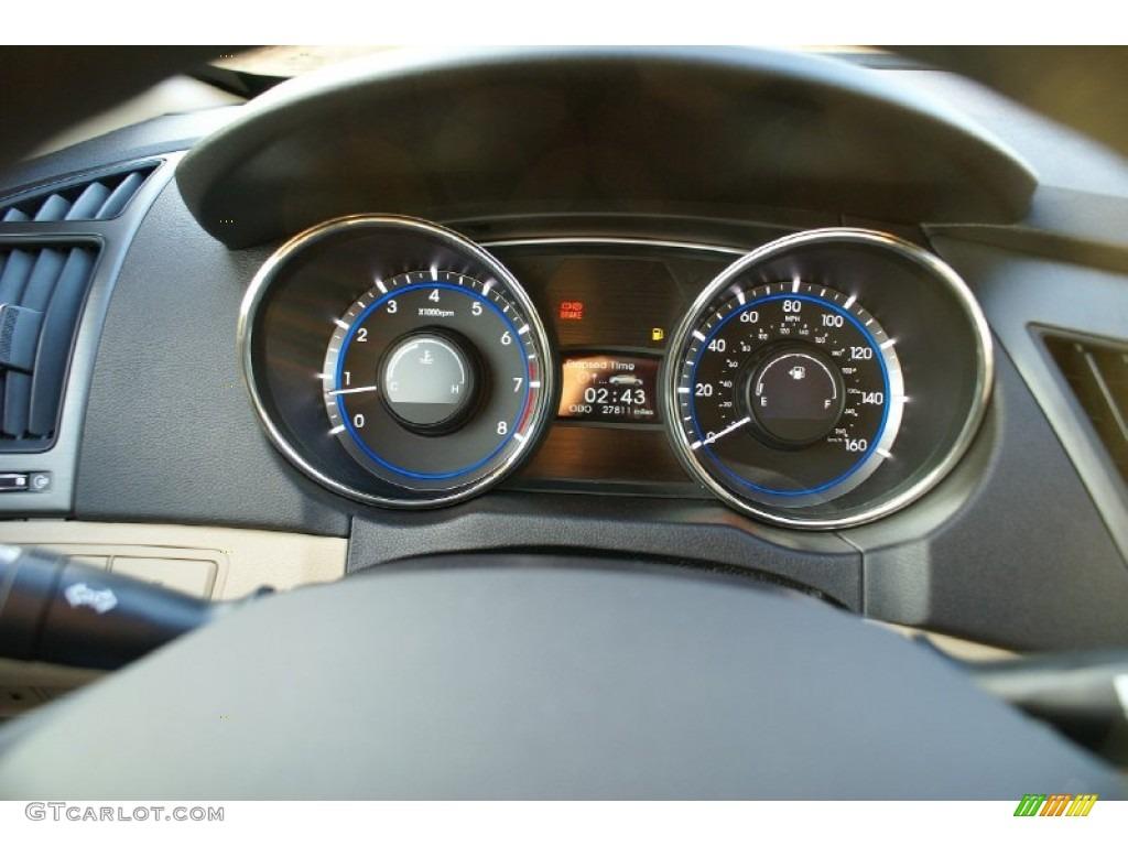 2011 Hyundai Sonata Gls Gauges Photo 77024886 Gtcarlot Com
