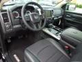 2013 1500 R/T Black Interior