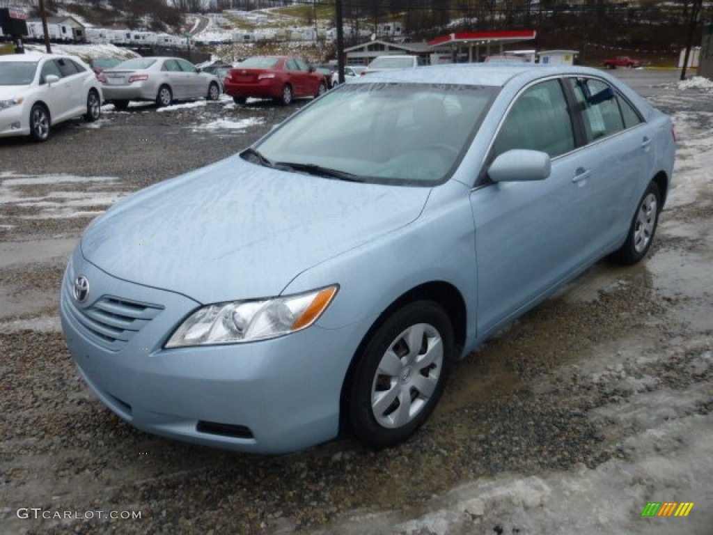 Sky Blue Pearl 2009 Toyota Camry LE Exterior Photo