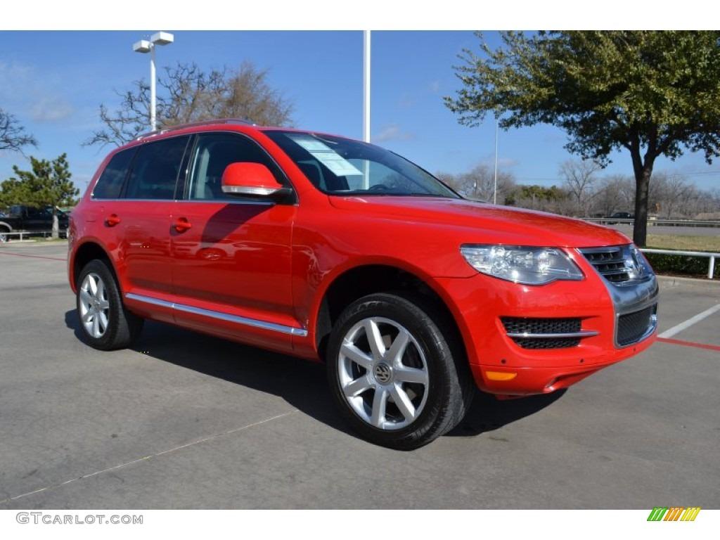 Volkswagen Touareg 2004 Red 2008 Salsa Red Volkswa...