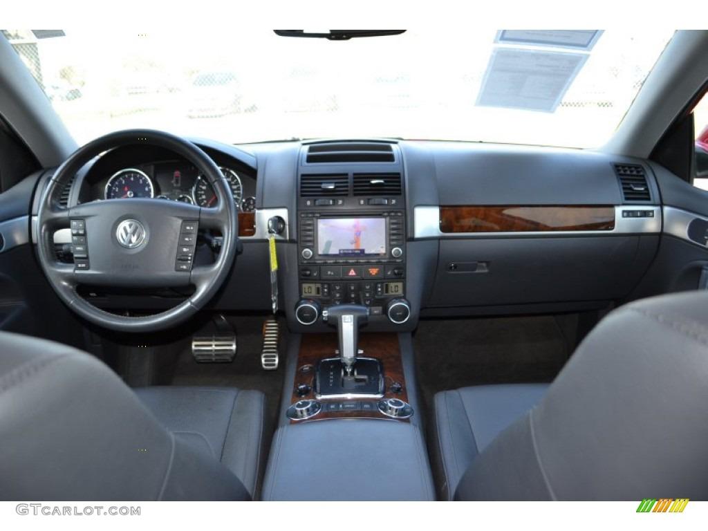 2008 volkswagen touareg 2 v8 anthracite dashboard photo