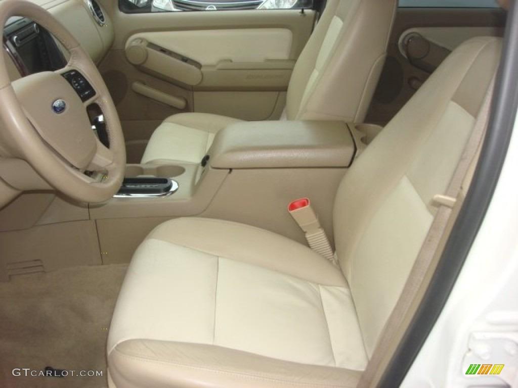 camel interior 2007 ford explorer limited 4x4 photo 77038544. Black Bedroom Furniture Sets. Home Design Ideas