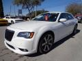 Ivory Tri-Coat Pearl 2012 Chrysler 300 SRT8