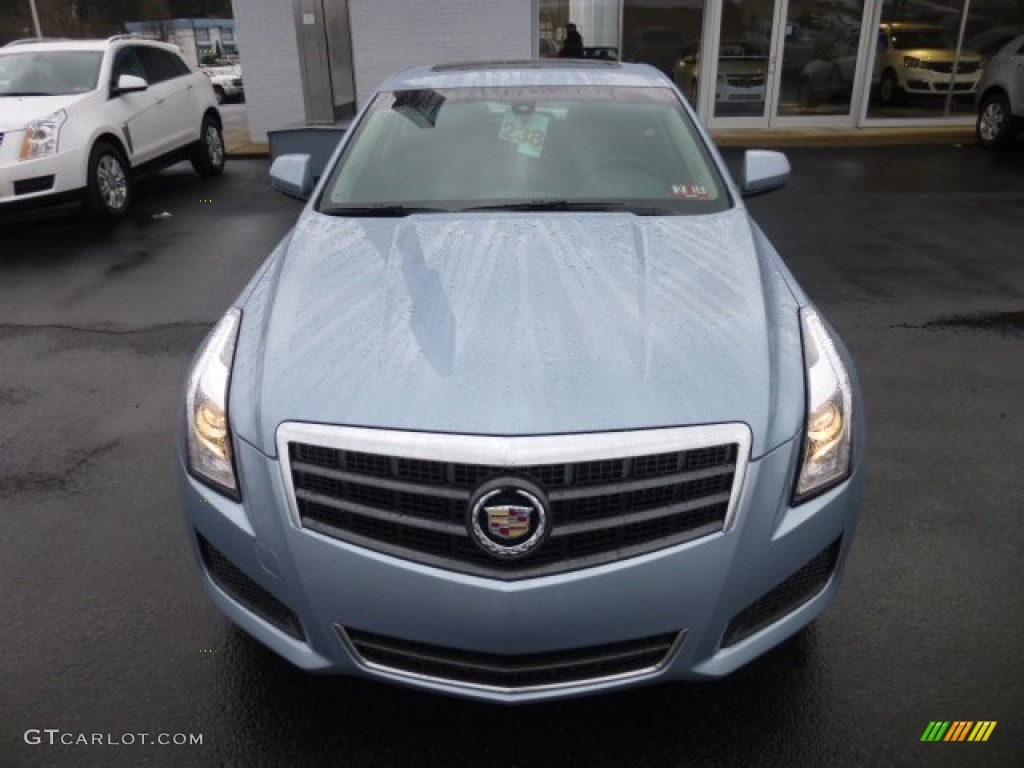 Glacier Blue Metallic 2013 Cadillac Ats 2 0l Turbo Awd Exterior Photo 77048095