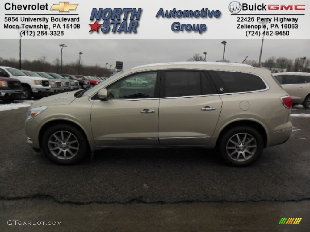 2013 Buick Enclave Leather Awd Champagne Silver Metallic Choccachino Male Models Picture