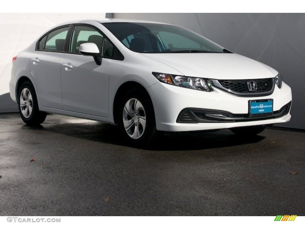 2013 white orchid pearl honda civic lx sedan 77042586 car color galleries. Black Bedroom Furniture Sets. Home Design Ideas