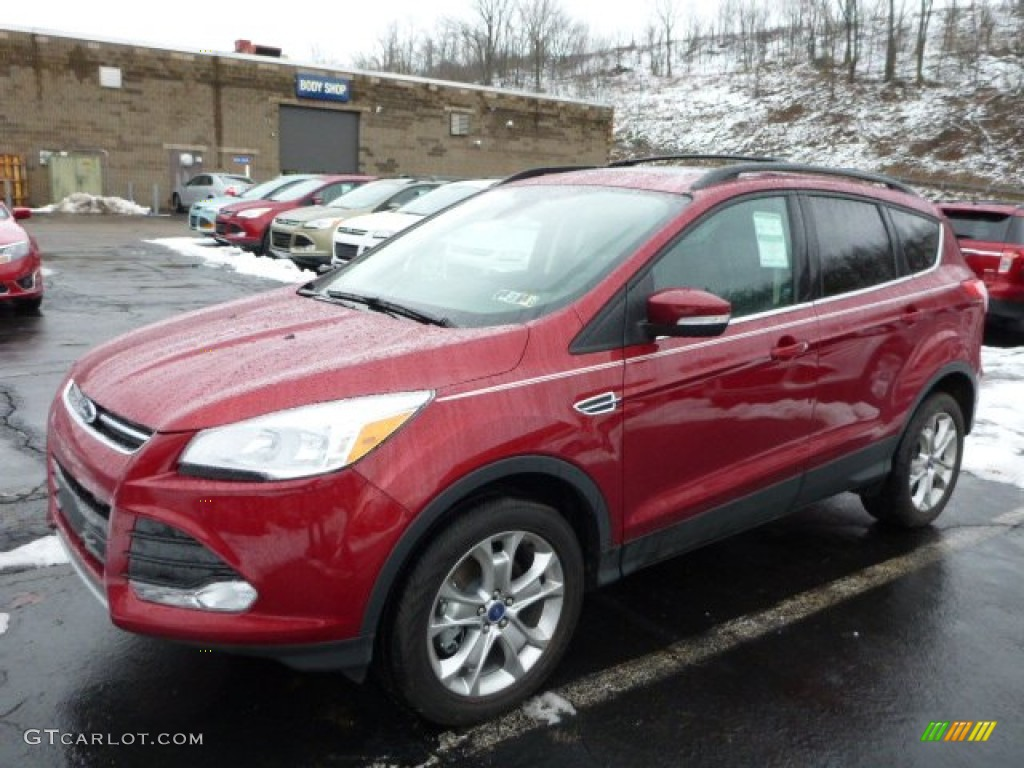 ruby red metallic 2013 ford escape sel 1 6l ecoboost 4wd exterior photo 77054401. Black Bedroom Furniture Sets. Home Design Ideas