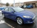 Deep Impact Blue Metallic 2013 Ford Fusion Gallery