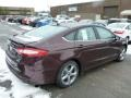 2013 Bordeaux Reserve Red Metallic Ford Fusion SE 1.6 EcoBoost  photo #2