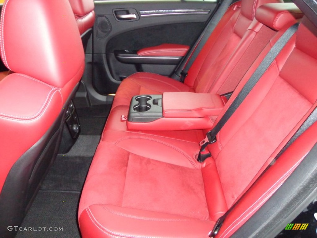 black radar red interior 2012 chrysler 300 srt8 photo 77068348
