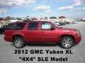 Crystal Red Tintcoat 2012 GMC Yukon SLE 4x4