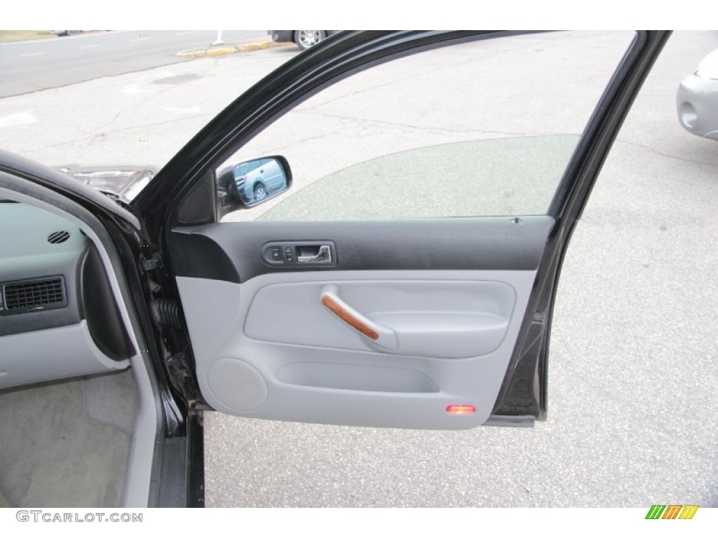 2000 Volkswagen Jetta Glx Vr6 Sedan Gray Door Panel Photo 77072607