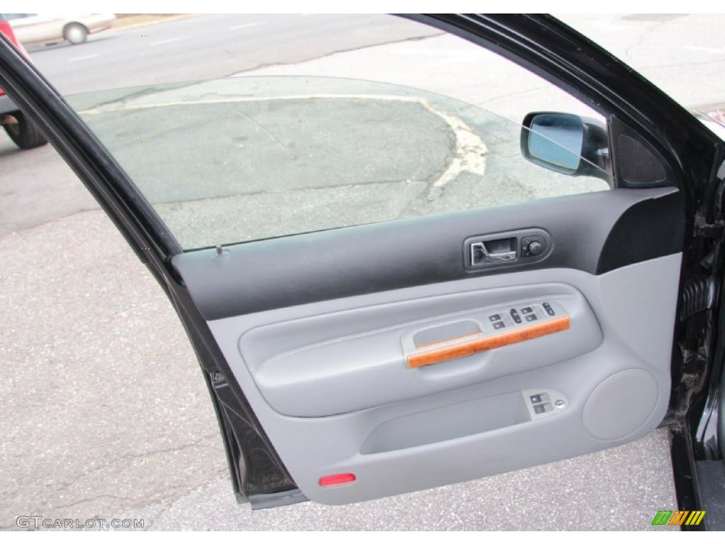 2000 Volkswagen Jetta Glx Vr6 Sedan Gray Door Panel Photo 77072637