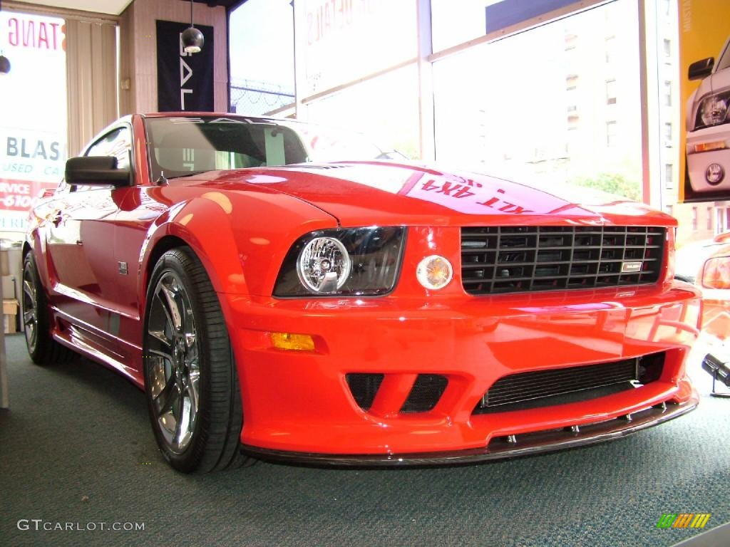 2006 torch red ford mustang saleen s281 extreme coupe. Black Bedroom Furniture Sets. Home Design Ideas