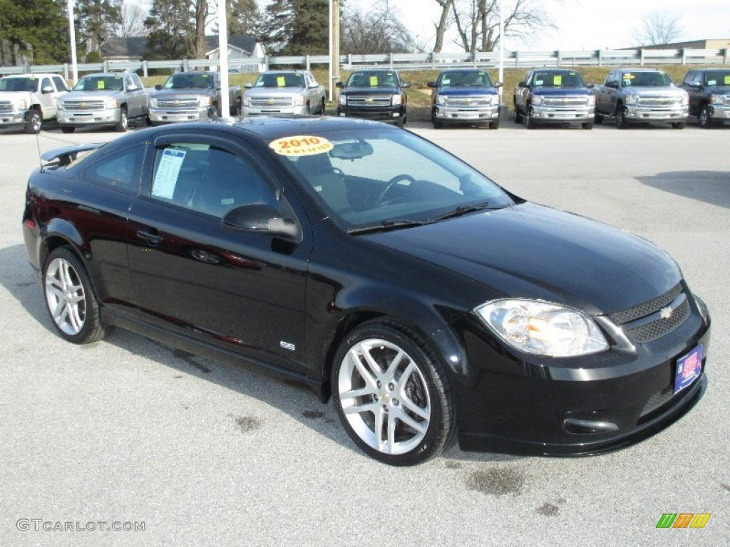 Black 2010 Chevrolet Cobalt SS Coupe Exterior Photo #77085524