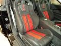 2013 Ford Mustang Shelby Charcoal Black/Red Accent Recaro Sport Seats Interior Front Seat Photo