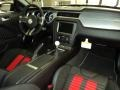 2013 Ford Mustang Shelby Charcoal Black/Red Accent Recaro Sport Seats Interior Dashboard Photo