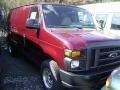 Dark Toreador Red Metallic 2008 Ford E Series Van Gallery
