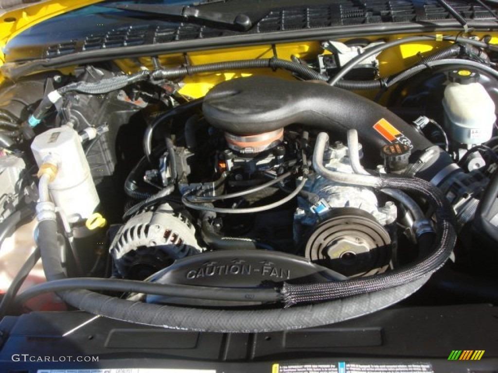 2003 chevy s10 v6 horsepower