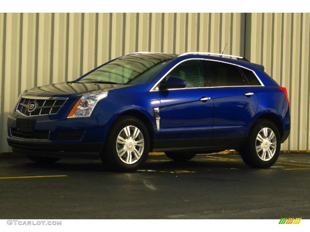 2012 Xenon Blue Metallic Cadillac Srx Luxury Awd 77107377