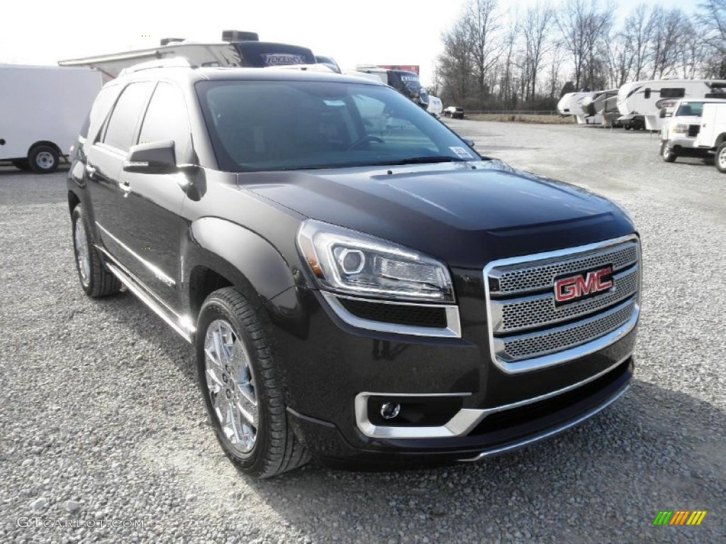 2013 Acadia Denali AWD - Iridium Metallic / Ebony photo #2