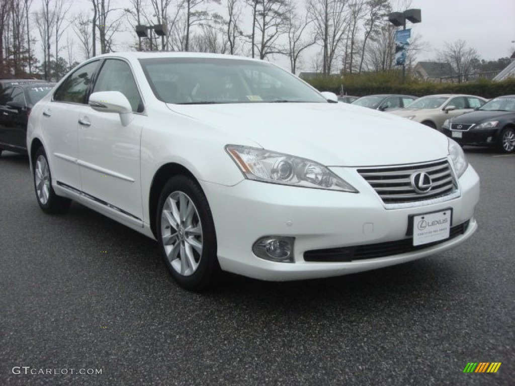 2011 starfire white pearl lexus es 350 77107022. Black Bedroom Furniture Sets. Home Design Ideas