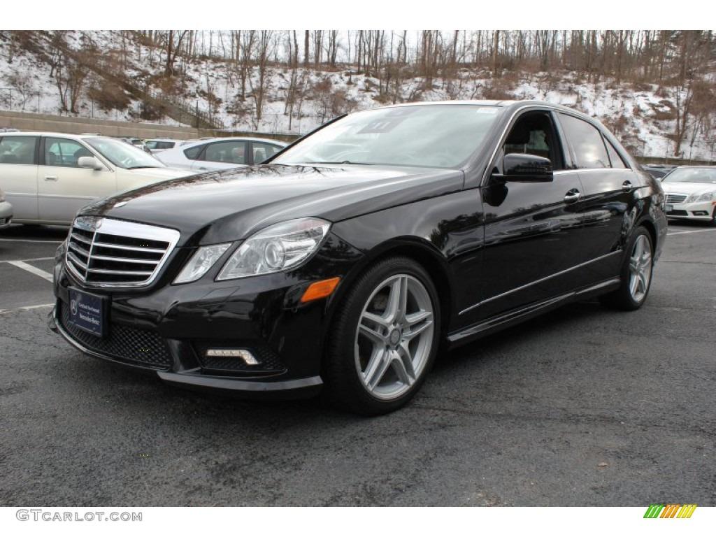 Black 2011 mercedes benz e 350 4matic sedan exterior photo for Mercedes benz e350 4matic 2011