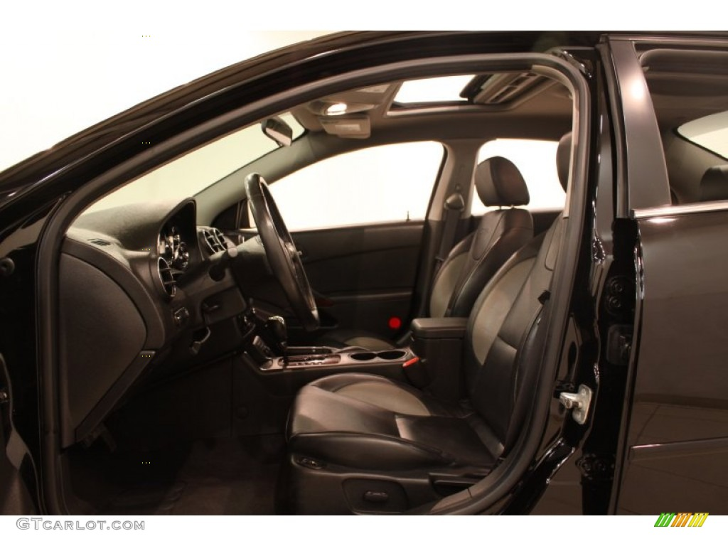 Ebony Interior 2006 Pontiac G6 Gtp Sedan Photo 77123360