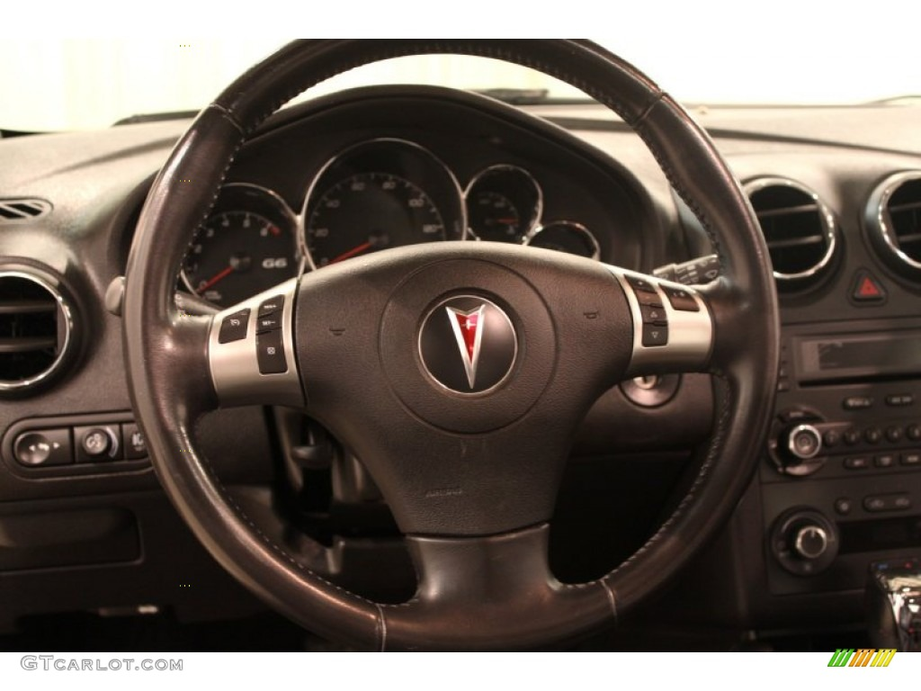 2006 Pontiac G6 Gtp Sedan Steering Wheel Photos