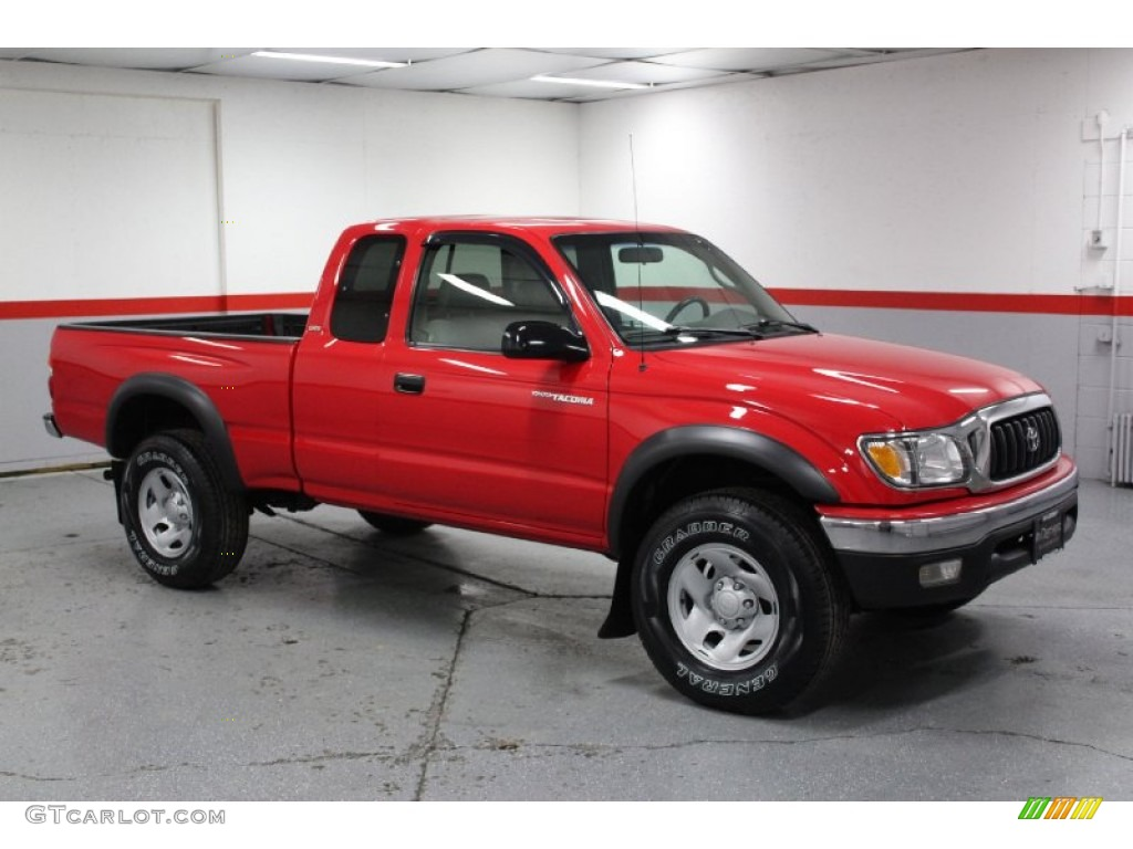 2014 Toyota Tacoma For Sale >> Radiant Red 2004 Toyota Tacoma SR5 Xtracab 4x4 Exterior ...