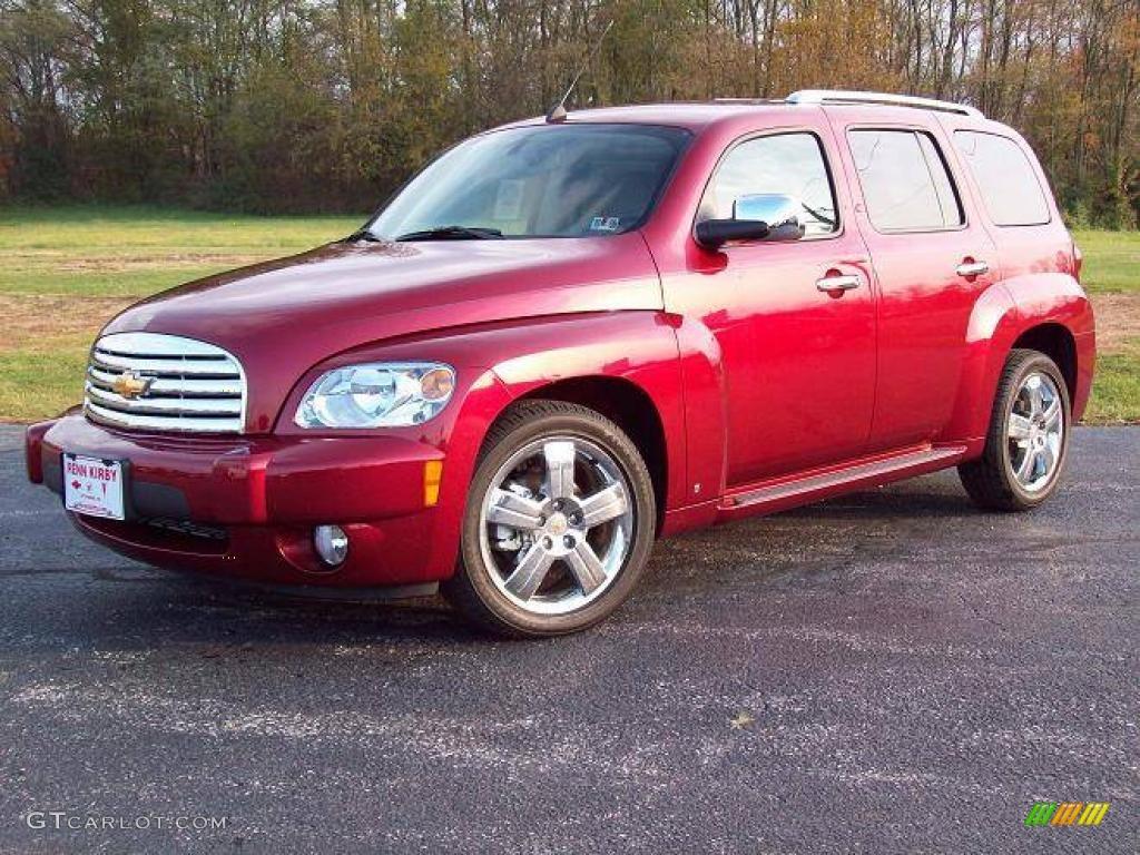 2009 Cardinal Red Metallic Chevrolet Hhr Lt 7707271 Gtcarlot