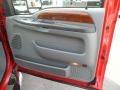 2002 Ford F250 Super Duty Medium Flint Interior Door Panel Photo