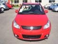 Vivid Red - SX4 Crossover Touring AWD Photo No. 6