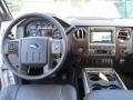 2012 White Platinum Metallic Tri-Coat Ford F250 Super Duty Lariat Crew Cab 4x4  photo #24