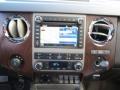 2012 White Platinum Metallic Tri-Coat Ford F250 Super Duty Lariat Crew Cab 4x4  photo #25