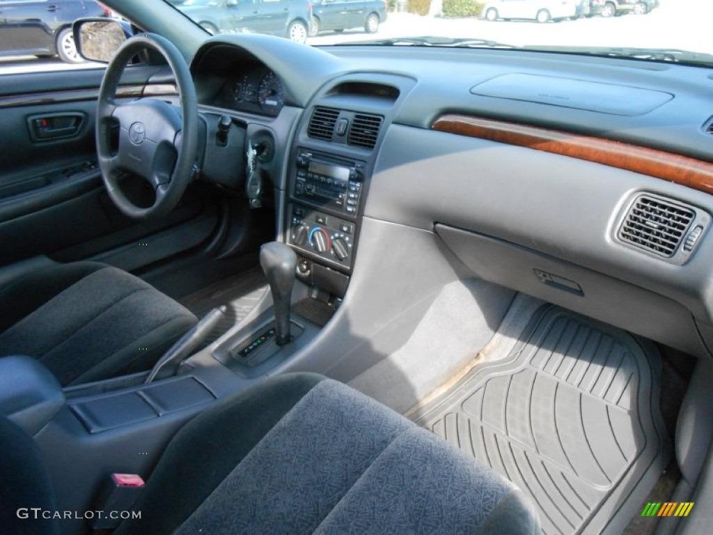 2000 Toyota Solara Se V6 Coupe Charcoal Dashboard Photo 77141474