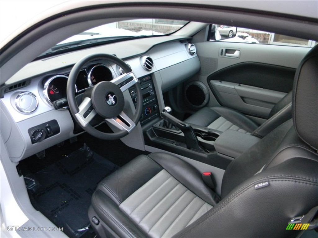 Charcoal Black Dove Interior 2008 Ford Mustang Gt Cs California Special Coupe Photo 77144797