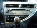 Saddle Tan/Espresso Birds Eye Maple Controls Photo for 2013 Lexus RX #77152808